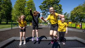 GALLERY: It's all swings and roundabouts as new Lurgan Park play park is officially opened!