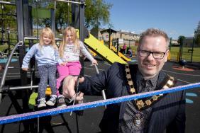 GALLERY: New-look play park opens in Taghnevan