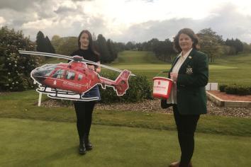 Lady captain Ita backs Air Ambulance in memory of Callum