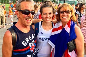 Team GB hockey star Anna's sporting pedigree