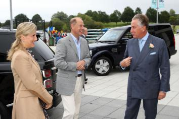 A right Royal knees up as Earl and Countess of Wessex open South Lake Leisure Centre