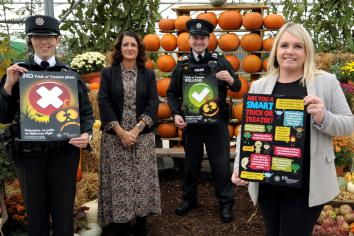 Police and Council combine to appeal for safe Halloween